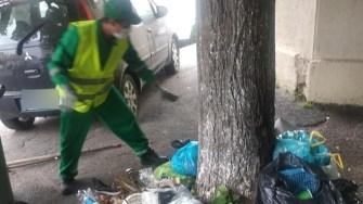 Constănțenii continuă vechile obiceiuri: îngroapă orașuș sub gunoi. FOTO Polaris M Holding