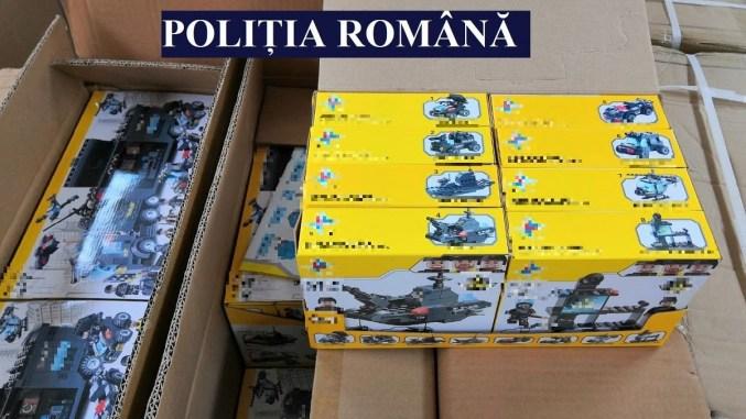 Jucării în valoare de aproximativ 100.000 de lei, confiscate de polițiștii constănțeni