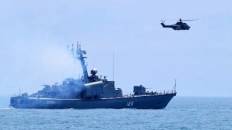 Trageri de luptă și alte acțiuni complexe de instruire. FOTO Forțele Navale