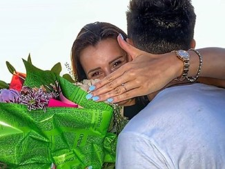 """Dobriceanu Loredana Stefania a spus aseară un mare """"Da"""", la cererea în căsătorie făcută de Andrei Hdg."""