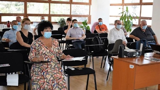 Întâlnire de lucru a comunității de afaceri din comuna Cumpăna și colaboratori ai Clusterului MEDGreen