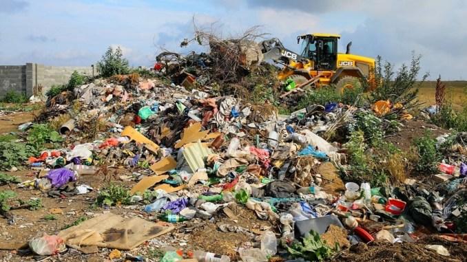 Groapa de gunoi improvizată în zona Oierie, desființată. FOTO Primăria Constanța