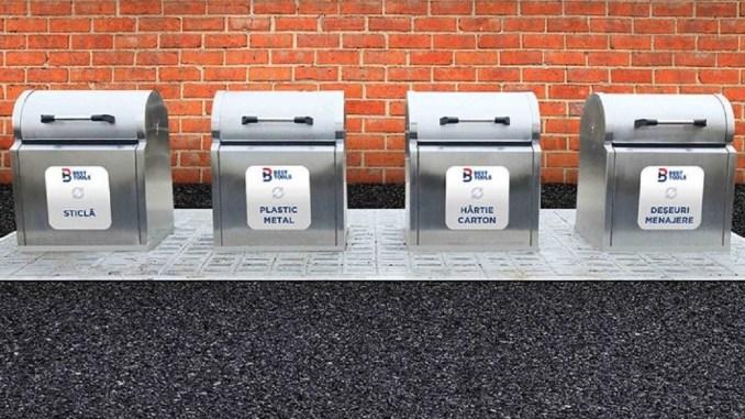 Noi platforme subterane pentru deșeuri menajere vor fi amplasate în Cernavodă. FOTO Primăria Cernavodă