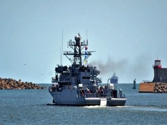 """Dragorul maritim """"Locotenent Lupu Dinescu"""". FOTO Forțele Navale Române"""