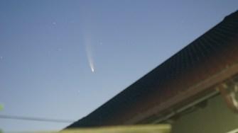 Cometa Neowise, văzută din 23 August. FOTO Abibula Aygun
