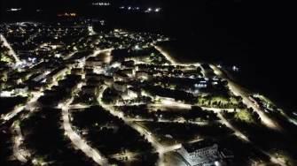 Hârșova văzută de sus. FOTO Facebook Primăria Hârșova