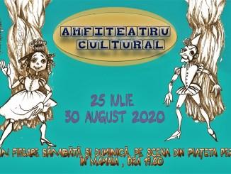 """""""Amfiteatru Cultural"""", spectacole din repertoriul curent al Teatrului """"Căluțul de mare"""" susținute în Mamaia, zona Perla"""