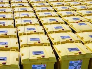 Acțiunea de amplasare a containerelor destinate deșeurilor reciclabile în Constanța, continuă