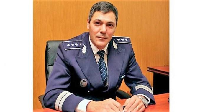 Constantin Glugă, noul împuternicit șef al Inspectoratului de Poliție Judeţean Constanța. FOTO IGPR