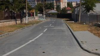 Străzi asfaltate în Hârșova. FOTO Paul Alexe