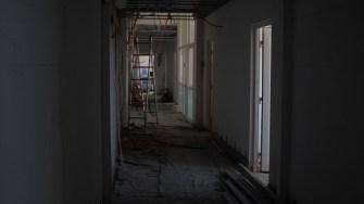 Lucrări la spitalul din Hârșova. FOTO Paul Alexe