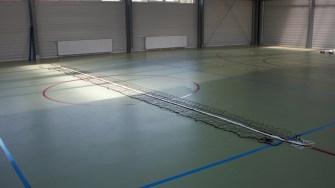 Sala de sport din Satu Nou. FOTO Paul Alexe