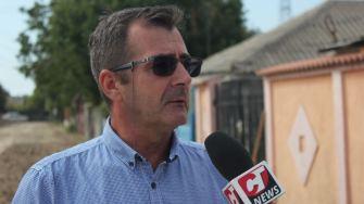 Valentin Rotaru, director de investiții în cadrul Primăriei comunei Corbu. FOTO CTnews.ro