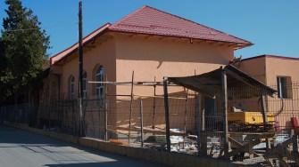 Școala din comuna Seimeni. FOTO Paul Alexe