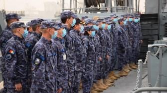 """Dragorul maritim """"Locotenent Lupu Dinescu"""" se va integra într-o grupare navală NATO. FOTO Forțele Navale"""