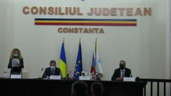 Ceremonia de învestire a lui Vergil Chițac în funcția de primar al Constanței. FOTO CTnews.ro