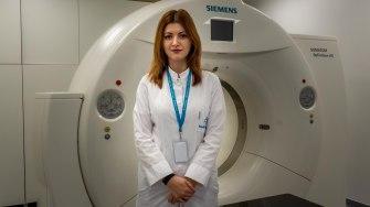 Dr.Alexandra Zlate, medic specialist în cadrul Centrului de radioterapie MedEuropa Constanța. FOTO Paul Alexe
