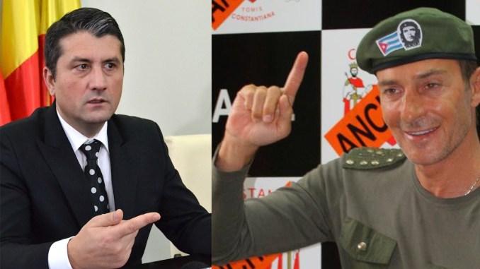Decebal Făgădău și Radu Mazăre. FOTO CTnews.ro