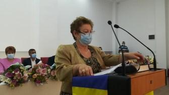 Ceremonia de învestire pentru Dorinela Irimia, primarul comunei Saraiu. FOTO Paul Alexe
