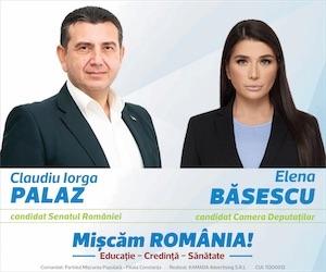 Banner PMP – alegeri parlamentare