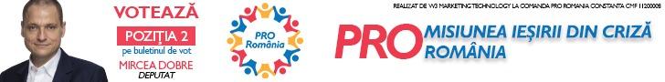 Banner Pro Romania Dobre