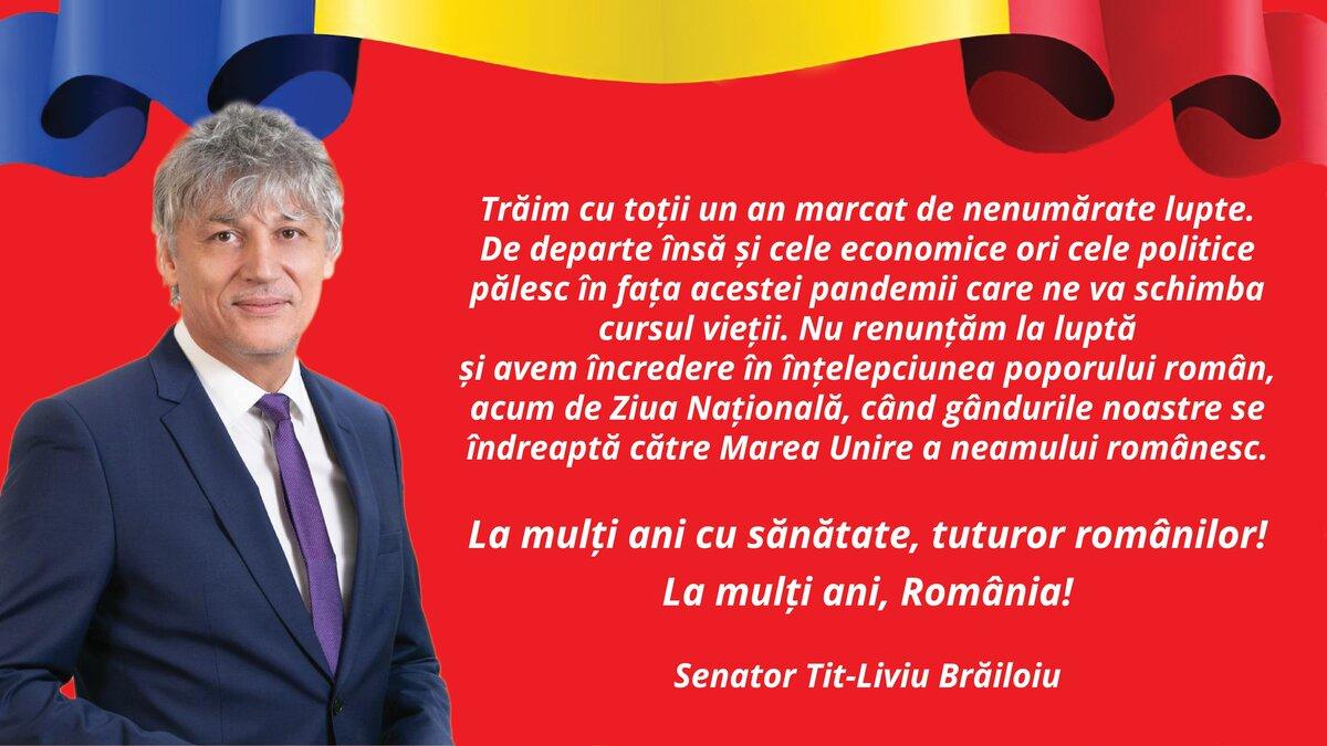 Senator Tit-Liviu Brăiloiu