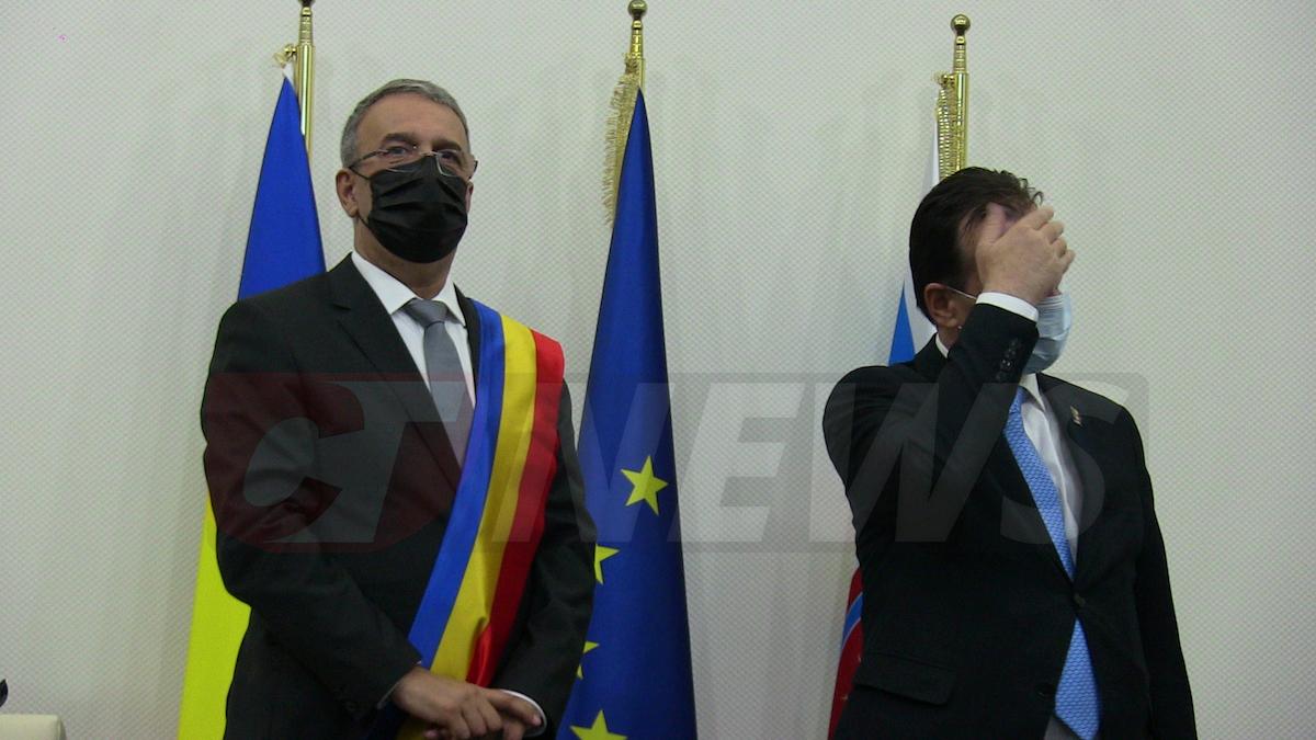 Vergil Chițac și Ludovic Orban. FOTO CTnews.ro