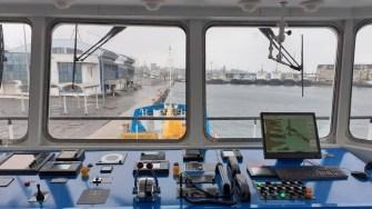 Noua navă tanc autopropulsată a CN APM, în probe tehnice în Portul Constanța. FOTO APM SA