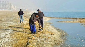 ABADL a terminat lucrările de conservare ale plajelor constănțene. FOTO Facebook Bogdan Bola