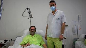 Dean Edgar și medicul Titi Marian Băjenescu. FOTO Paul Alexe