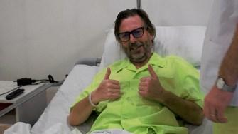 Dean Edgar operat la Ovidius Clinical Hospital. FOTO Paul Alexe