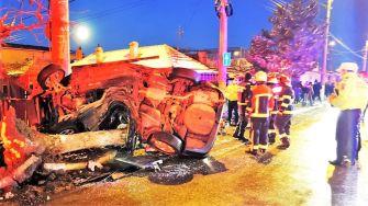 """Adolescent de 17 ani, rănit grav într-un accident rutier petrecut în Constanța. FOTO ISU """"Dobrogea"""""""