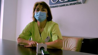 Directorul de îngrijiri medicale de la OCH, Mirela Răileanu. FOTO Paul Alexe