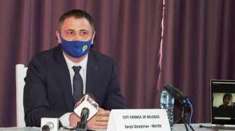 Serghii Dymytriiev, primarul orașului Bolgrad (Ucraina). FOTO Paul Alexe