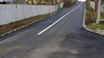 Stradă în comuna Gârliciu.