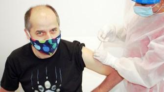 Jurnali;tii CTnews au făcut vaccinul anti-Covid. FOTO CTnews