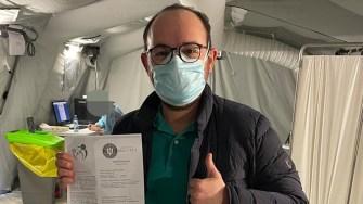 Dr. Stelian Mociu de la OCH s-a imunizat împotriva Covid-19