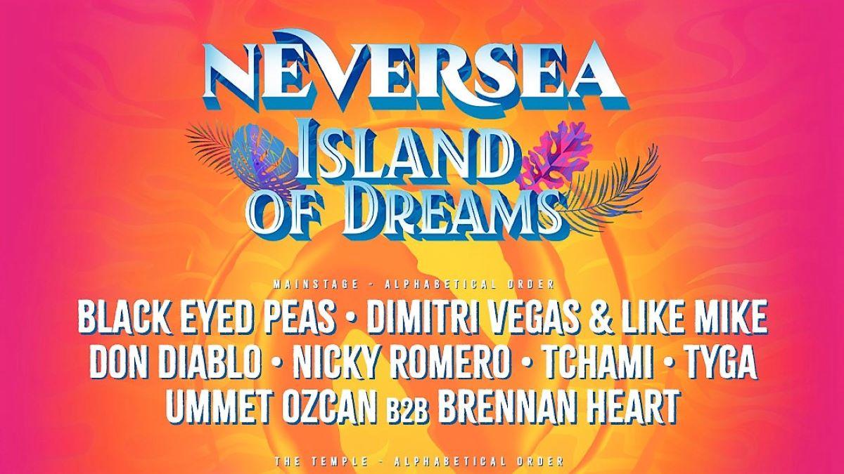 Line up neversea 2021