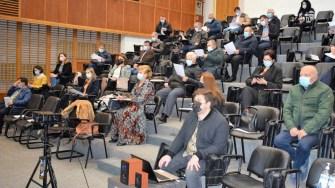 Membrii ACoR Constanța s-au reunit pentru a dezbate problemele de ordin administrativ. FOTO ACoR