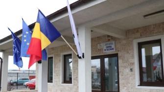 Centrul de vaccinare din Cumpăna. FOTO Adrian Boioglu