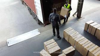 Container cu țigări nedeclarate, descoperit în Portul Constanța