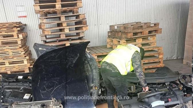 Un nou container încărcat cu deșeuri neconforme, oprit în Portul Constanța