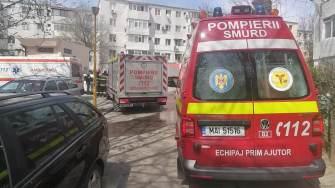 Explozie într-un bloc din Constanța.