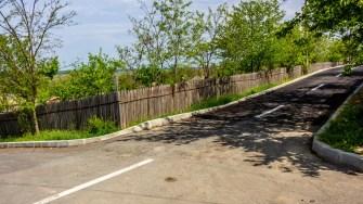Strada asfaltată din Gârliciu. FOTO Paul Alexe