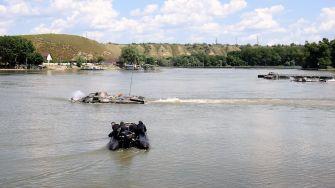 """Peste 650 de marinari militari, la Exercițiul """"Dacia 21 Livex"""". FOTO SMFN"""