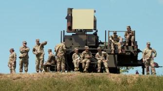 Exercițiu militar la Capu Midia. FOTO Paul Alexe