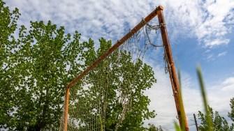 Terenul de sport din Gârliciu, FOTO Paul Alexe