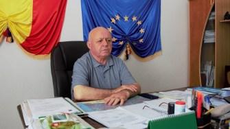 Primarul comunei Mihai Viteazu, Gheorghe Grameni. FOTO Paul Alexe