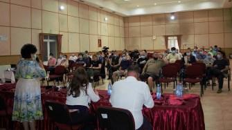 Dezbatere publică la Cumpăna. FOTO Paul Alexe