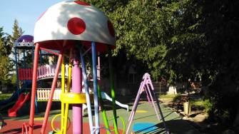 Loc de joacă în Comana. FOTO Primăria Comana